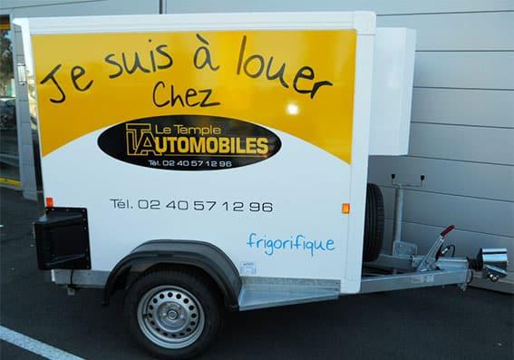 Locations véhicules frigo