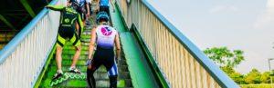 Marathon de rollers