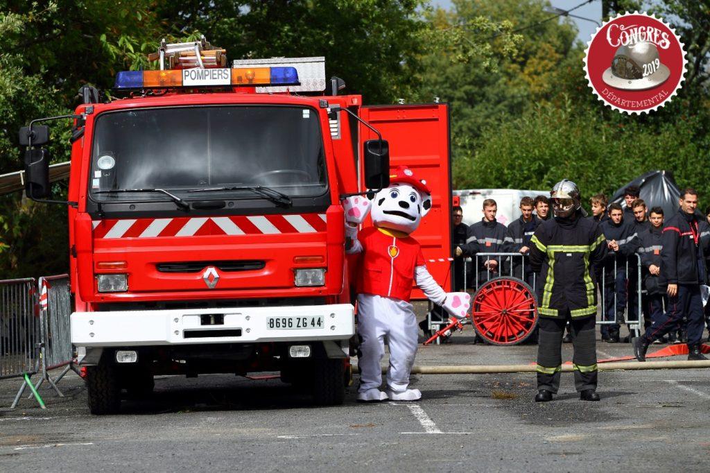 Congrès départemental des pompiers